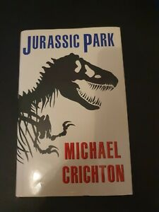 1ST EDITION--JURASSIC PARK--MICHAEL CRICHTON-- HARDBACK WITH COVER--1991- GOOD++