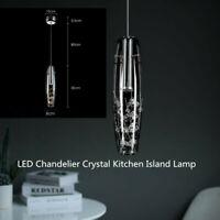 LED Chandelier Crystal Kitchen Island Lamp Bar Pendant Light Ceiling Lamp STOCK!