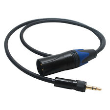 Sennheiser CL100 XLR Replacement Cable. Receiver EK100 EK300 EK500 G1 G2 G3