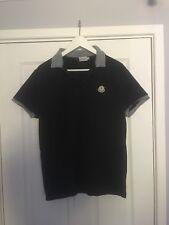 Mens Black Moncler Large Polo Shirt