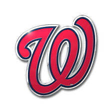 MLB: Washington Nationals Color Aluminum Emblem
