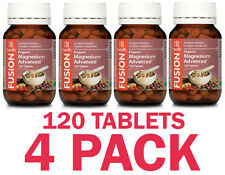 Fusion Health Magnesium Advanced 120 Tablets - 4 PACK SPECIAL - $32.49 each
