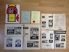 Werberatschlag mit Umschlag + Freiga.+ * Julia * 1977 * EA 1978 * Fred Zinnemann