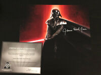JAMES EARL JONES autographed 8x10 photo, signed authentic, Star Wars, COA