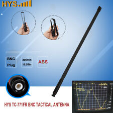 Tactical Antenna BNC 15.5in 2Meter 70CM VHF UHF For Kenwood ICOM 2-way Radio