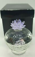 Crystal Clear Collectables Trinket Box/glass bowl and lid