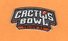 2015 Cactus Bowl Jersey Logo Patch Oklahoma State Cowboys Washington Huskies