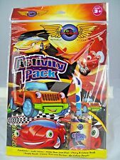 Activity Pack with Cars Design -  Kids Activity Books with Pencils UK