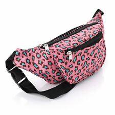 Pink Animal Bum Bag Fanny Pack Festival Money Holiday Shopping Travel Belt