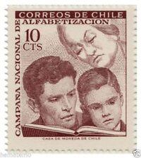 Chile 1966 #699 Campaña Nacional de Alfabetizacion MNH