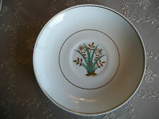Wedgwood of Etruria & Barlaston GLH555Y Saucers 4 Gold Leaves Green Leaves