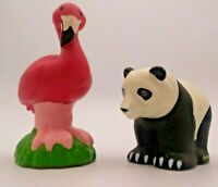Fisher Price 2011 Jungle Talker Flamingo and Jungle Bear Little People Toys