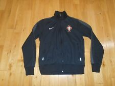 Nike 2014 PORTUGAL Soccer FIFA World Cup Football Black Track Jacket Youth M