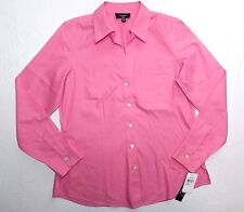 new = WOMENS non iron fitted fit SHIRT = FOXCROFT = SIZE 8 - de91