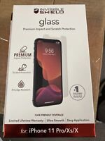 Zagg Invisible Shield Glass for iPhone 11 Pro / XS / X Glass Screen Protector
