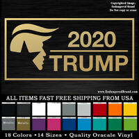 President Donald Trump 2020 Head box re election  sticker or decal