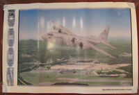 Vintage USAF Air Force 2000th C-130 Hercules Airplane Poster Print 1992