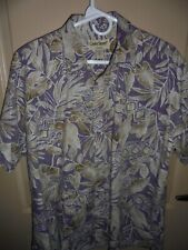 Cooke Street Mens Hawaiian Shirt Size Large~Button Front~100%Cotton