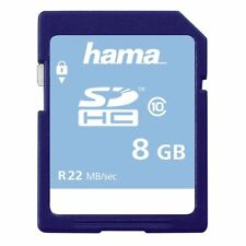 Hama 8GB High Speed 22MB/s Class 10 SDHC Card - BRAND NEW