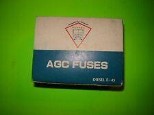 """Buss 20 amp AGC Automotive Glass Fuse Assortment 1/4""""  100 count"""