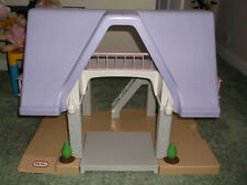 LARGE LITTLE TIKES PLAYHOUSE/DOLLS HOUSE WITH FAMILY AND FURNITURE only 1on ebay