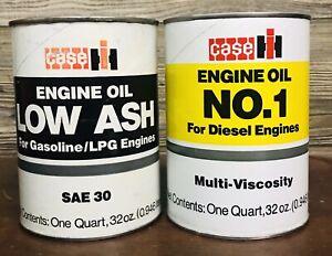Case IH International Harvester Farm Oil Can Quart Lot