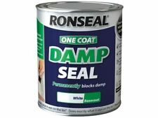 Ronseal  One Coat Damp Seal White 2.5 litre
