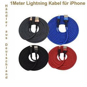 iPhone Schnell Ladekabel Amor´s für iPhone 6-8 X XR 11 12 XS X f. Apple iPad- 1m