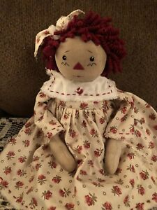 Primitive Raggedy Ann Doll By Terri's Prims