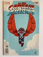 All-New Captain America #1 Sam Wilson Baby Variant Skottie Young Marvel 2015