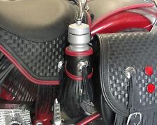 Heritage Springer water bottle holder with fringe