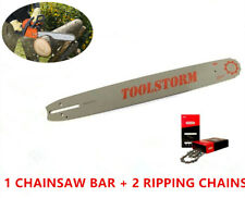 """CHAINSAW BAR AND CHAIN (2 RIPPING) FOR STIHL 20"""" 3/8"""" 0.063"""" 72 DL SPROCKET NOSE"""