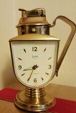 Rare Swiza 4 Jewels Table Lighter Clock