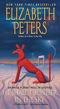 Elizabeth Peters, He Shall Thunder In The Sky, Very Good Book