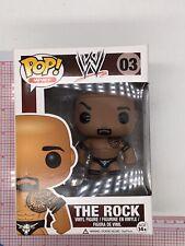 Funko Pop The Rock Wwe Wrestling Vinyl Figure #03 Not Mint G02