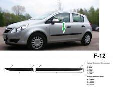 Bandes de protection de porte pour Opel Corsa D Hatchback 2006-2014