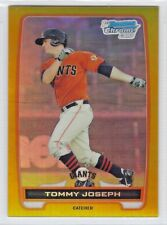 Tommy Joseph 2012 Bowman Chrome Rookie RC REFRACTOR GOLD /50 #BCP100 Giants