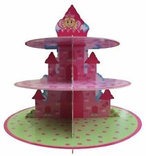 Lovely Chubblies Fairy Princess PARTY Cardboard CupCake Stand Girls Birthday New