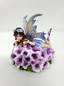 Rare Viola Fairy flower statue Nemesis Now Gothic Angel Fantasy ornament figure