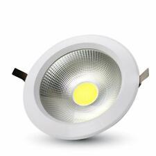 30W SPOT LED COB ROTONDO A++ 120LM/W BIANCO CALDO 3000K - Calda - 001704