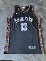 James Harden Brooklyn Nets Black Alternate Swingman Jersey