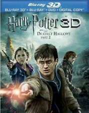 Harry Potter and the Deathly Hallows: Part 2 (With Blu-ray + DVD) 3D BLU-RAY NEW