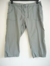Cropped Trousers 18 Green Cotton