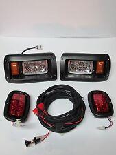 100% LED Club Car DS LED Head Light kit, LED taillight,  Fit 1993 & up models
