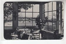View of Yacht Basin from Garden Room Mamaroneck NY