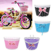 Fahrradkorb Lenkerkorb Fahrrad Korb Körbchen für Kinder Mädchen - Mehrfarbig DE
