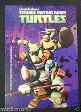 SDCC Comic Con 2012 Handout NICKELODEON Teenage Mutant Ninja Turtles Lobby Card
