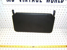 Porsche 1986 928S Rear seat BLACK Left OR Right  vinyl sun OEM 1 visor, 928S