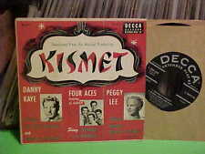 VARIOUS SELECTIONS FROM KISMET 45 RPM EP RECORD PEGGY LEE FOUR ACES DANNY KAYE