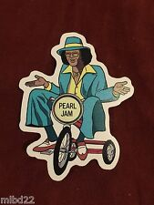 PEARL JAM - Johnny Guitar Sticker - WOW backspacer 2009 pj20 vedder